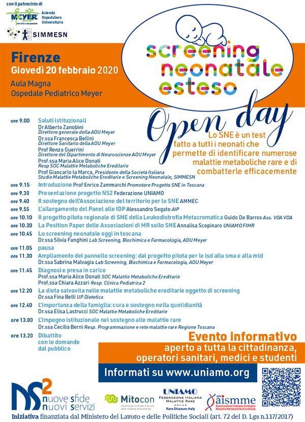 SNE open day Firenze